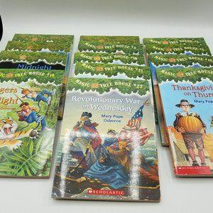Scholastic Magic Tree House paperback books